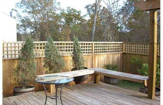 fence East Atlanta 2349 Charleston Pointe HausZwei Homes Kevin Polite