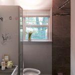 Bathroom 1545 Deerwood Midway Woods Dearborn Park HausZwei Homes Rental 1545 Deerwood