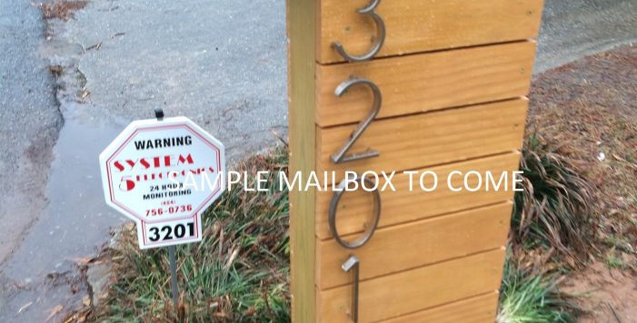Mailbox Decatur 3236 Beech Dr Meadowbrook Acres HausZwei Homes Kevin Polite Solid Source Realty Inc
