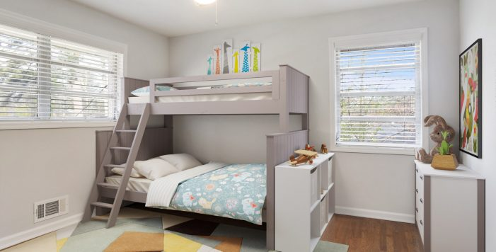 Childrens bedroom staged Collier Heights Kevin Polite HausZwei Homes Solid Source Realty, Inc.