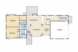 233 Chalmers architectural main floor plans
