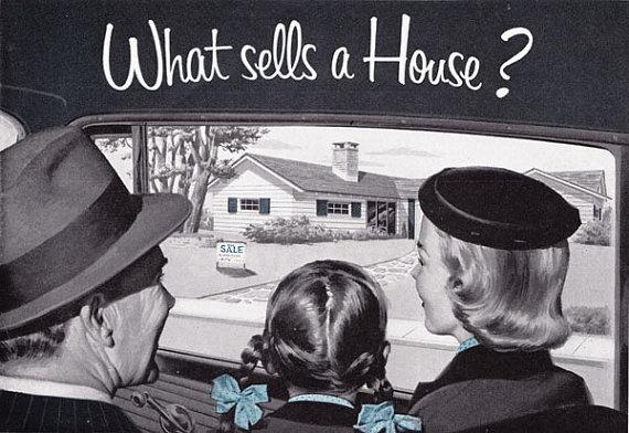 Mid Century Real Estate Ads - HausZwei Homes