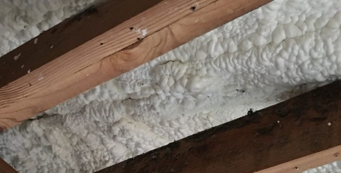 Insulation on Ceiling Energy Efficient Home