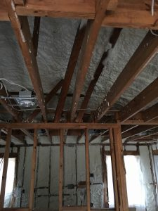 Insulation on Ceiling in Energy Efficient Home