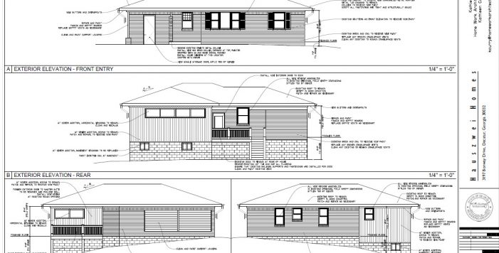 3197 Bonway Elevations HausZwei Homes