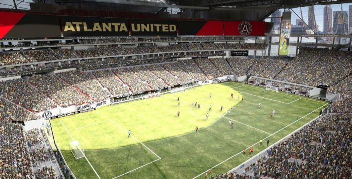 Atlanta United mercedes benz stadium