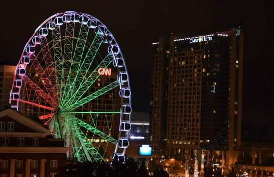 Downtown Atlanta Ferris Wheel
