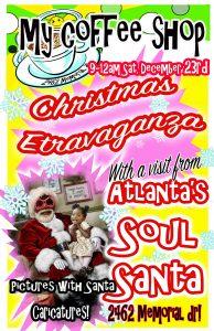 Soul Santa at My Coffee Shop in Atlanta's East Lake