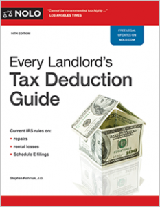 Landlord Tax Deduction Guide Real Estate Investment Property IRS