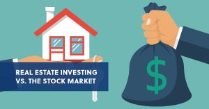 real estate returns are higher than stocks over the long run