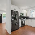 Kitchen white cabinets Peachcrest Belvedere Park Homes For Sale New Construction 3573 Orchard Circle Decatur