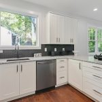 Kitchen white cabinets Peachcrest Belvedere Park Homes For Sale New Construction 3573 Orchard Circle Decatur 30032