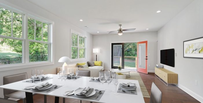 dining room 3573 Orchard Circle New Construction Decatur New Homes hauszwei homes
