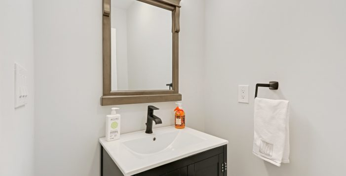 powder room 3573 Orchard Circle New Construction Decatur New Homes hauszwei homes