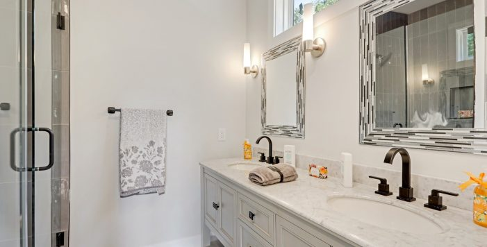 bathroom vanity frameless shower doors 3573 Orchard Circle New Construction Decatur New Homes hauszwei homes