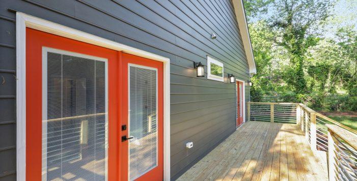 orange doors deck 3573 Orchard Circle New Construction Decatur New Homes hauszwei homes