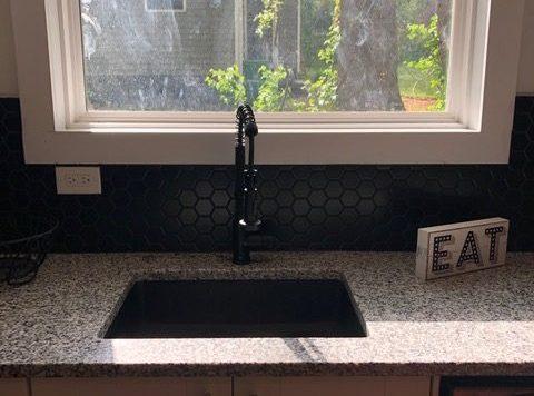 3573 Orchard Circle kitchen sink new home construction decatur Peachcrest Belvedeere park hausZwei Homes