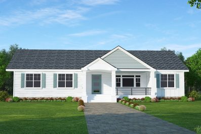 3205 Leeland Rd Option Exterior Berlin Model HausZwei Homes