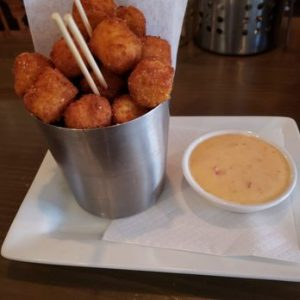 Grit Tots with Cheese The Pinewood