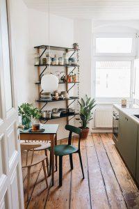 Woods floors in Berlin Germany apartment