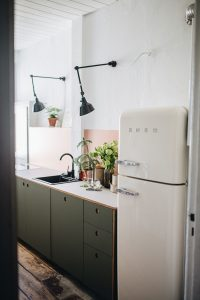 Kitchen in Berlin Germany apartment