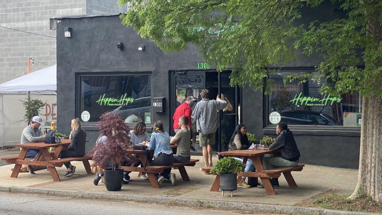 Hippin Hop Brewery Restaurant East Atlanta Village
